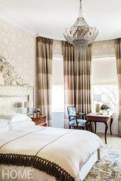 Contemporary Boston Townhouse Master Bedroom