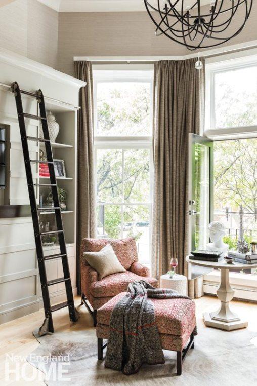 Elizabeth Benedict Beacon Hill Apartment Living Room