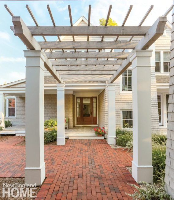 Cape Cod family Compound Pergola