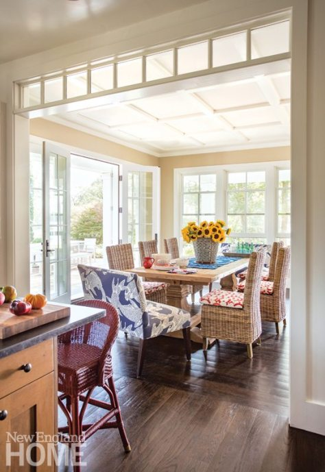 Cape Cod Family Compound Dining Area