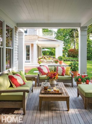 Cape Cod Family Compound Porch
