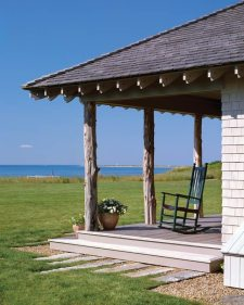 Albert Righter & Tittman Architects Rustic Porch