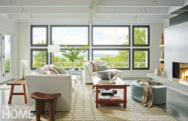 Farmhouse Modern Mitra Designs Living Room
