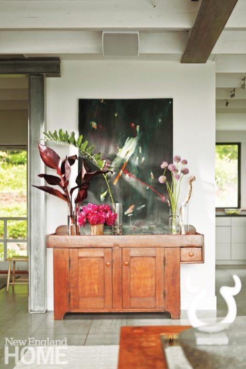 Farmhouse Modern Mitra Designs living Room Dry Sink