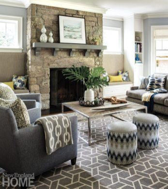 Riverside Transitional_Muse Interiors_Family Room