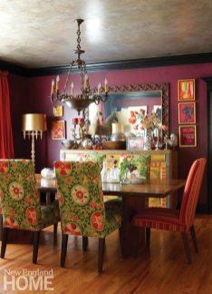Home of Artist Rachel Valpone Dining Room