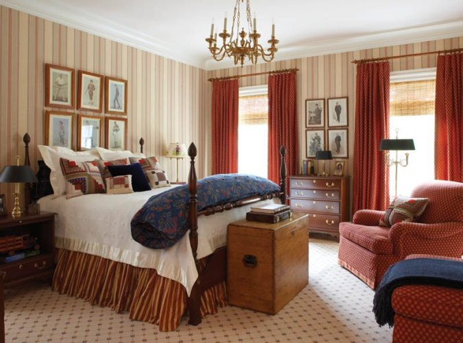Fairfield County Georgian Colonial Bedroom