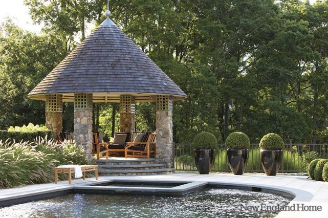 The Secret Garden captivated this Connecticut homeowner when she was a child and it inspired this garden.