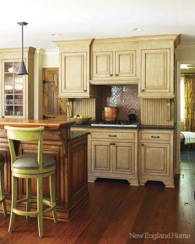 A kitchen detail.