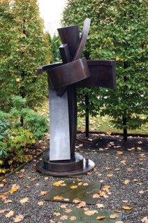 A sculpture by Guy Dill.