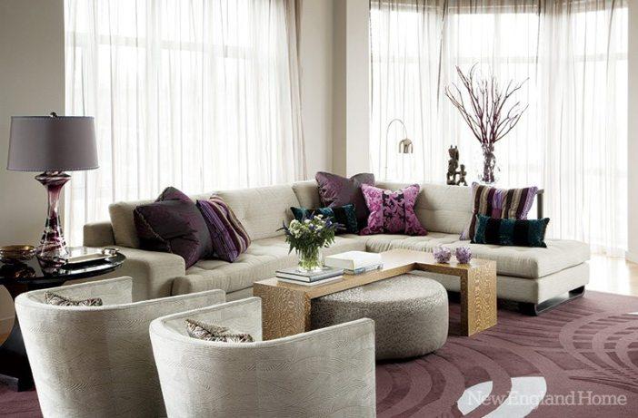 Michael Barnum living room