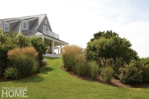 Contemporary Nantucket Shingle Style Landscape