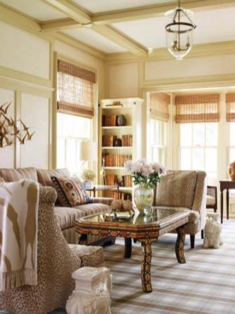 Noroton Harbor Living Room
