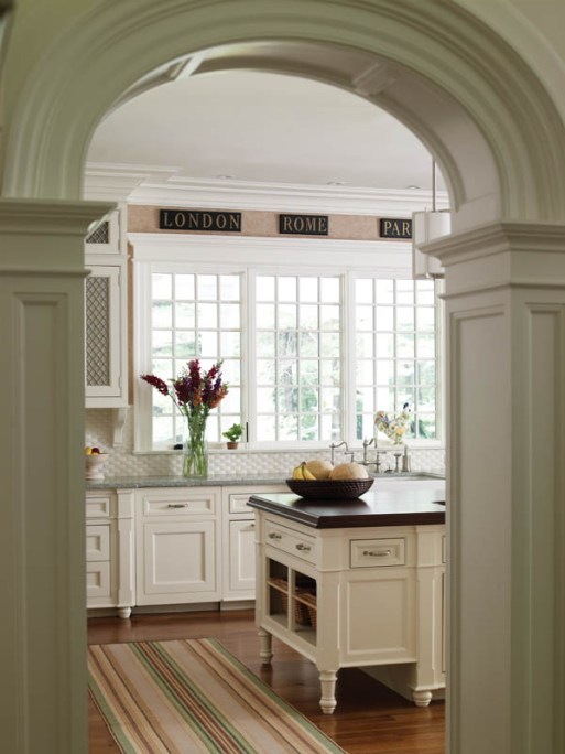 Country Club Homes Shingle Style Kitchen
