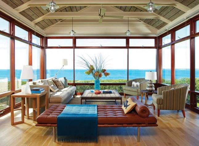 Hutker Architects living room
