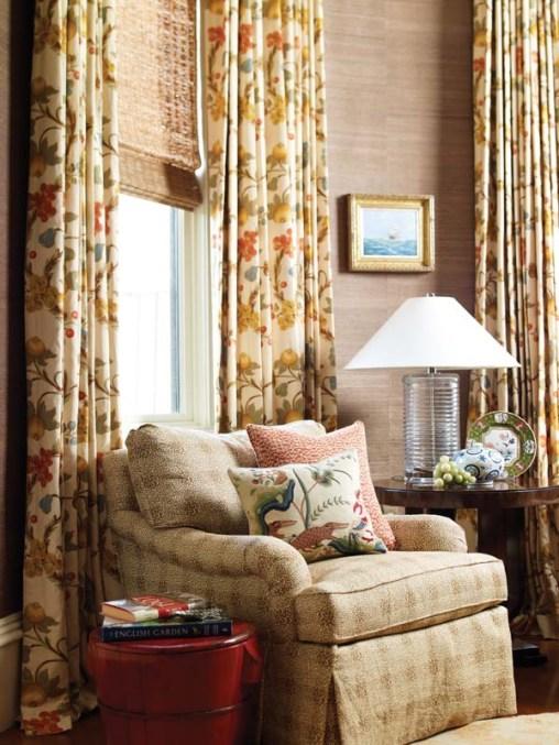 Anne Becker family room