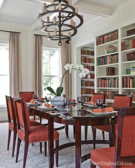 Susan B. Acton Interiors dining room