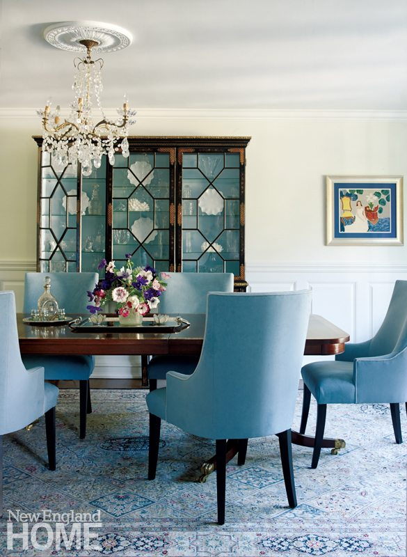 Brooks & Falotico New Canaan Dining Room