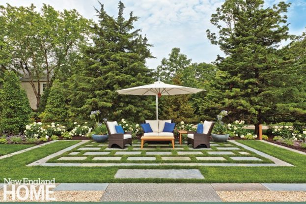 Dan Godron Mid-Cape Landscape Design Seating Area