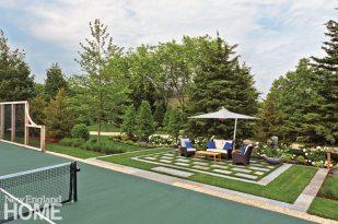 Dan Godron Mid-Cape Landscape Design Tennis Court