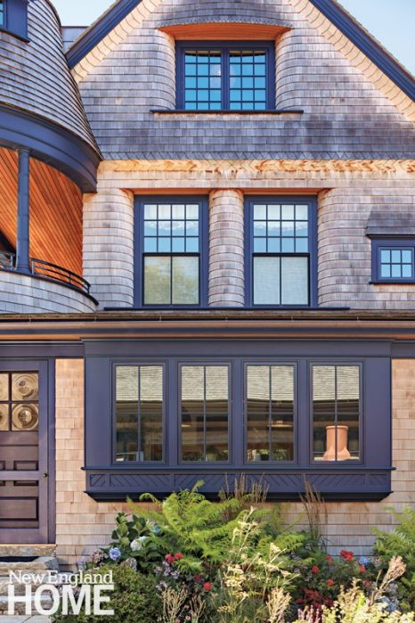 Rhode Island Shingle Style Front Window