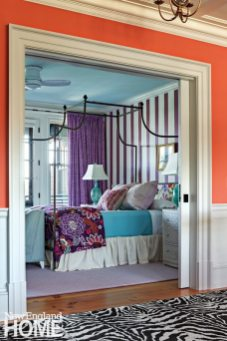 Rhode Island Shingle Style Girls Room