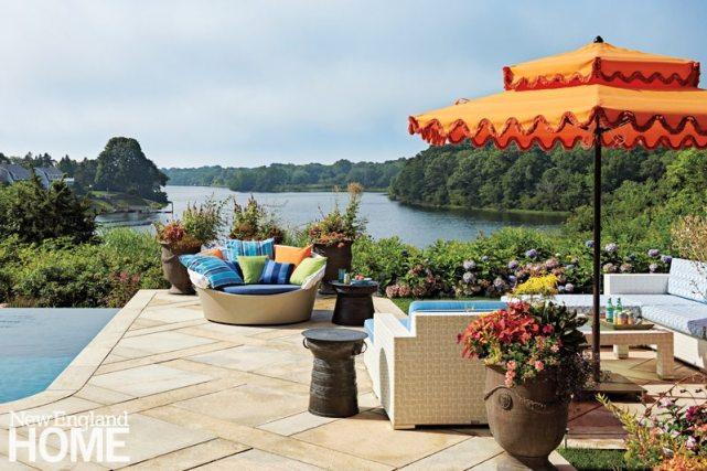 Rhode Island Shingle Style Pond View
