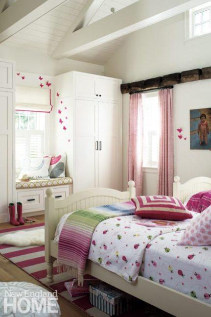 Westport Farmhouse Girls Bedroom