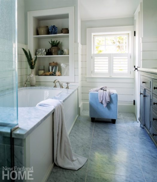 Westport Farmhouse Master Bathroom