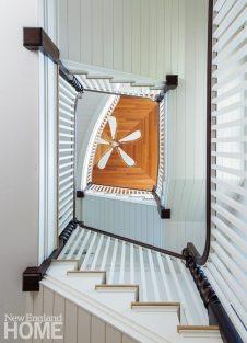 Jamestown Shingle Style Stairway