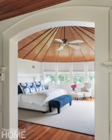 Jamestown Shingle Style Master Bedroom