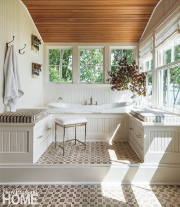 Jamestown Shingle Style Master Bathroom