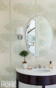Dan Koppen Rhode Island Shingle Style Powder Room