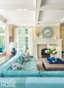 Dan Koppen Rhode Island Shingle Style Living Room