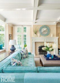 Dan Koppen Rhode Island Shingle Style Living Room