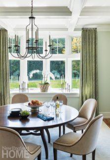 Dan Koppen Rhode Island Shingle Style Dining Area