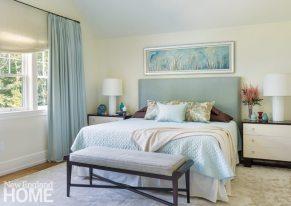 Dan Koppen Rhode Island Shingle Style Master Bedroom