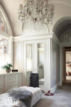 Large dressing room designed by Meyer & Meyer.