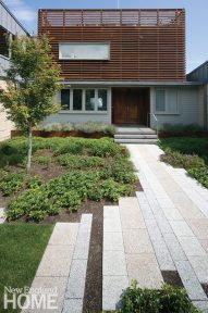 Gregory Lombardi contemporary landscape entrance