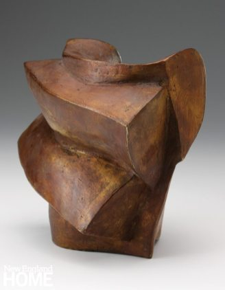 Malcolm Wright Two Sides (2008), bronze, cast by Jay Lindsay