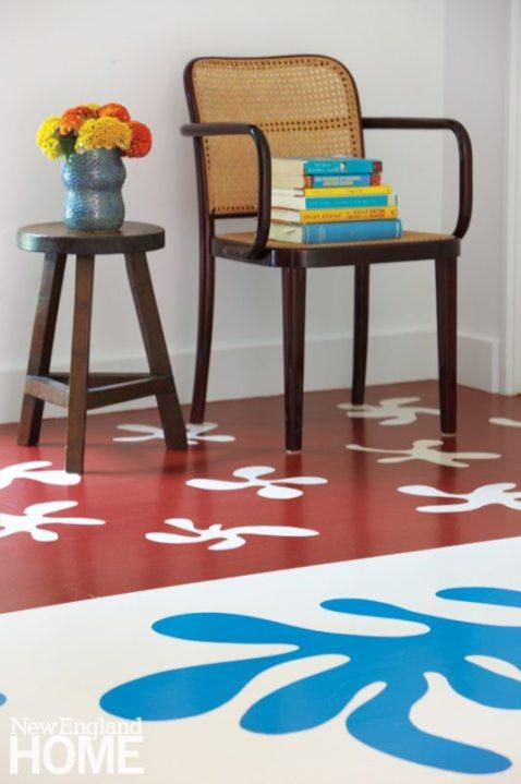 Matisse Inspired Floor