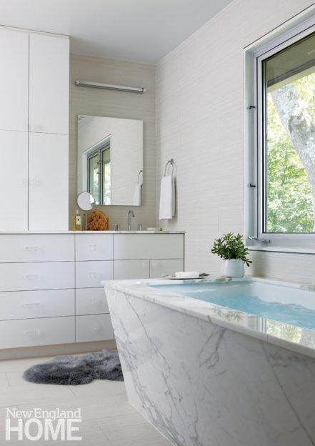 Sharon CT White Master Bath