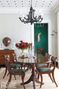 Litchfield County Neoclassical Dining Room