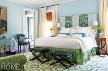 Litchfield County Neoclassical Master Bedroom