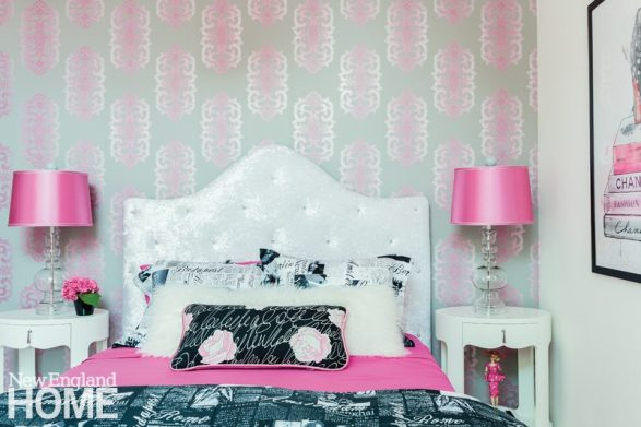 Vibrant Family Home Hot Pink Girl's Room
