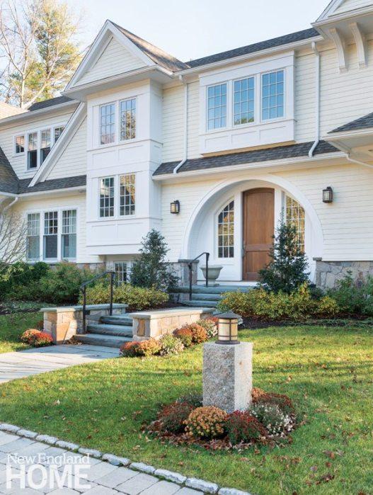 Weston Massachusetts Stick and Shingle Home Exterior