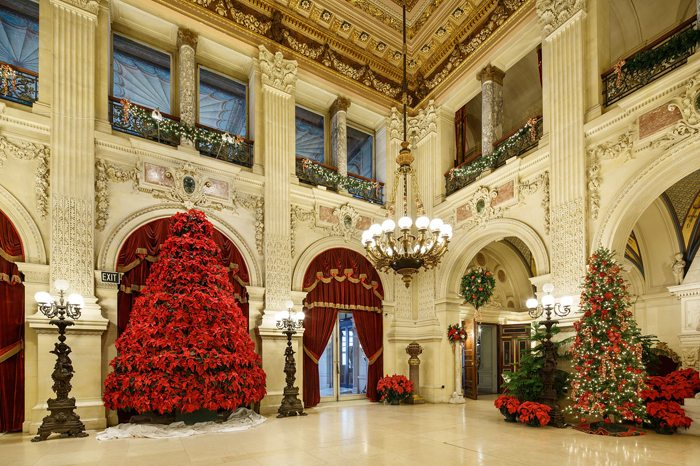 Holiday house tours Christmas at the Newport Mansions
