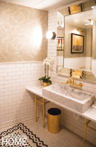Aquitaine Boston Bathroom