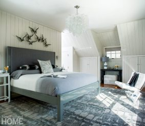 Rustic Farmhouse Washington Connecticut Master Bedroom