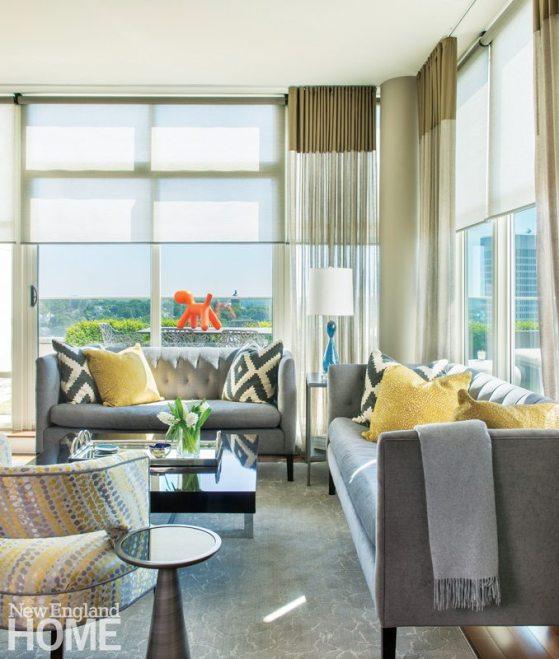 Kelly Taylor Providence Condo Living Room